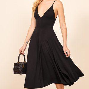 NWT Reformation Strada Sleeveless Midi Dress XS